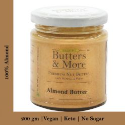 Unsweetened Almond Butter - 200 Gms