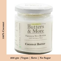 Unsweetened Coconut Butter - 200 Gms